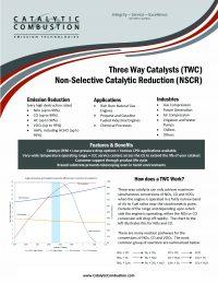 Three Way Catalyst Flyer