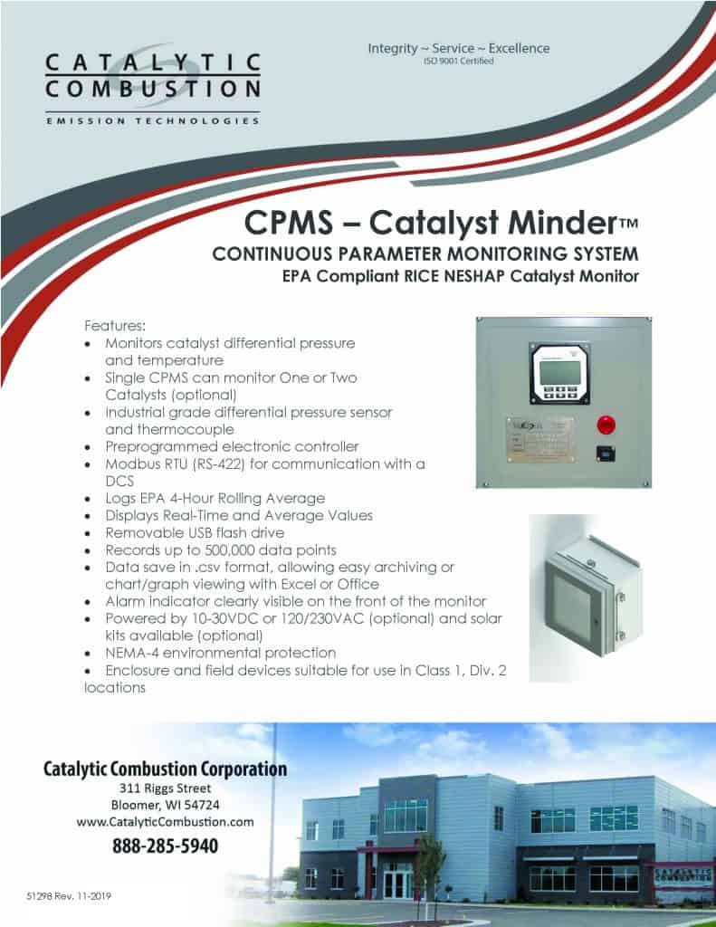 CPMS Catalyst Minder