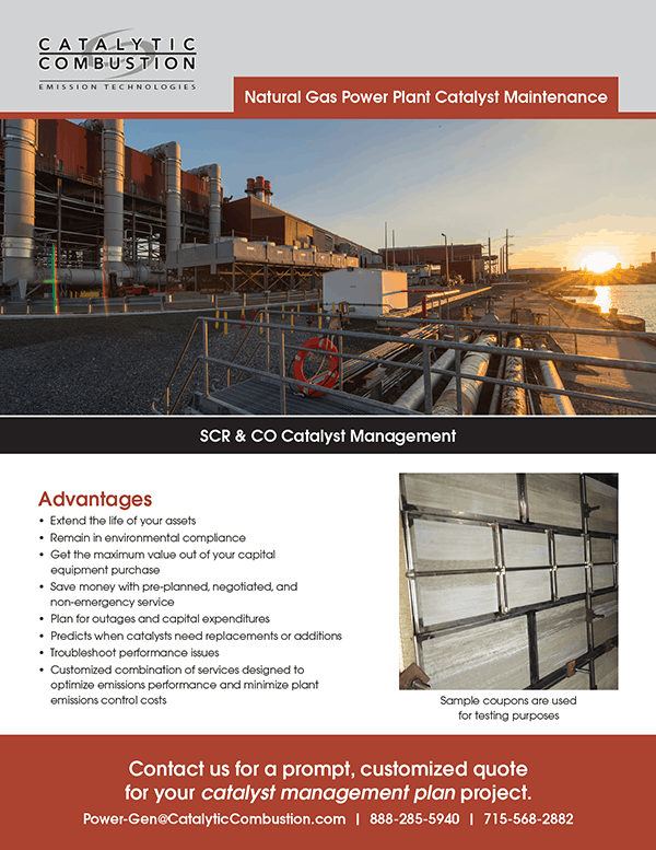 Natural Gas Maintenance brochure