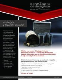 Hydrogen Mitigation Catalyst flyer
