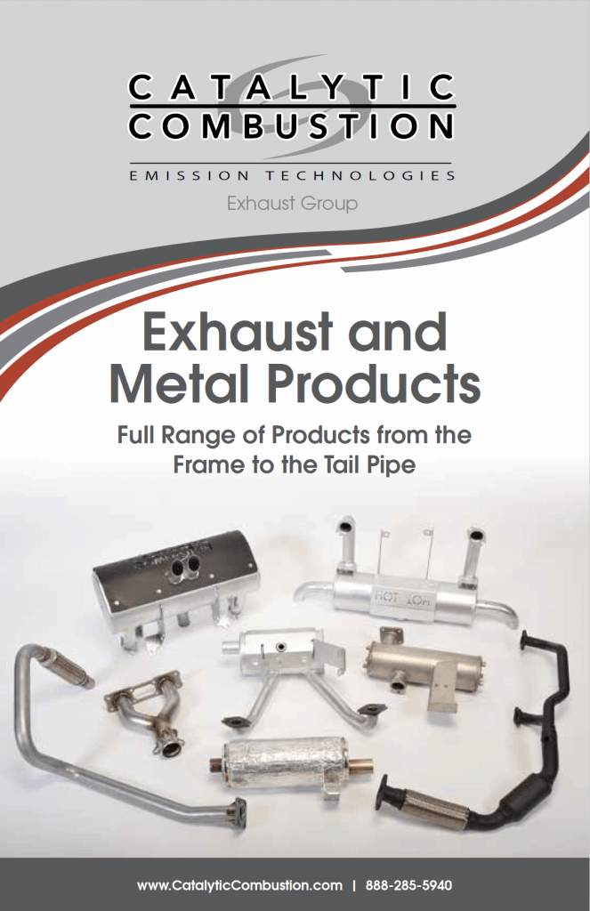 Exhaust and metal products booklet