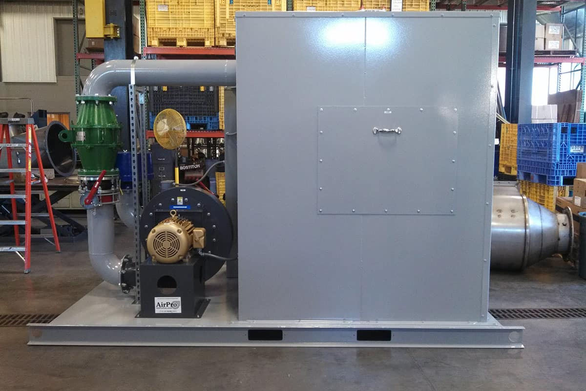 electric catalytic oxidizer