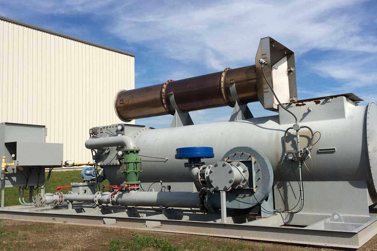 Catalytic Combustion Equipment Rental