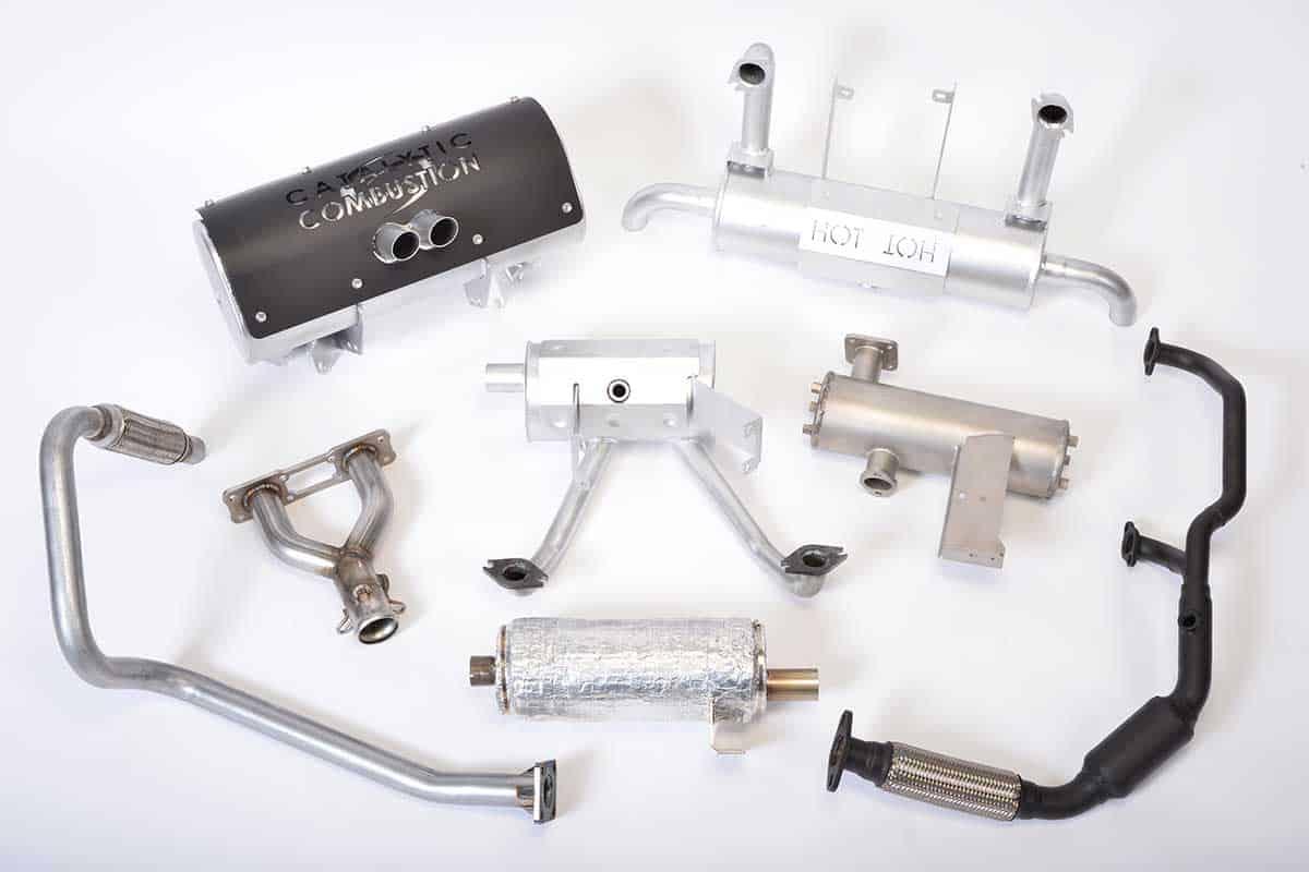 exhaust muffler design