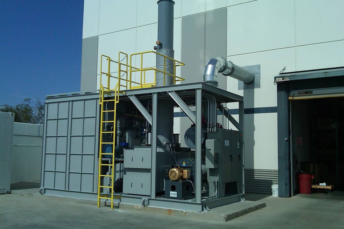 Catalytic Combustion Regenerative Thermal Oxidizer